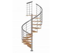 """Винтовая лестница """"Montreal Style"""", диаметр 1200, высота 2580-2820"""