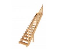 Лестница К-020у, проём 2730х970, высота 3120-3315