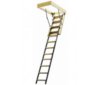 Комбинированная чердачная лестница, проём 700х1200, высота 2800, арт. ЧЛ-04