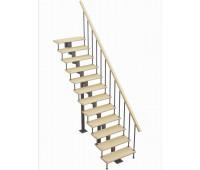 """Модульная лестница """"Стандарт"""", шаг 180, высота 1980-3610"""