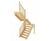 Лестница К-033м, проём 1820х1820, высота 2925-3120