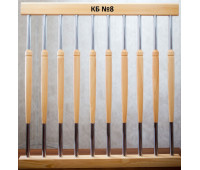 Комбинированная стойка (металл+дерево) КБ-8