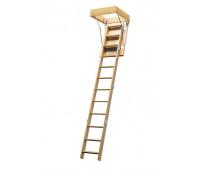 Деревянная чердачная лестница, проём 600х875, высота 2800, арт. ЧЛ-11