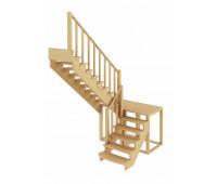 Лестница К-004м/4, проём 1820х2920, высота 2925-3120