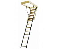 Комбинированная чердачная лестница, проём 600х1200, высота 2800, арт. ЧЛ-03