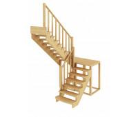 Лестница К-004м/3, проём 1820х2700, высота 2925-3120