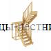 Лестница К-004м/2, проём 1820х2260, высота 2925-3120