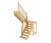 Лестница К-004м/1, проём 1820х2480, высота 2925-3120