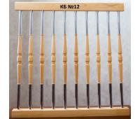 Комбинированная стойка (металл+дерево) КБ-12
