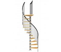 "Винтовая лестница ""Valencia"", диаметр 1500, высота 2460-2820"