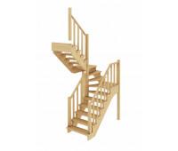 Лестница К-034м, проём 1820х1820, высота 2925-3120