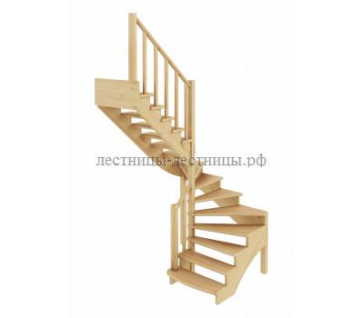 Лестница К-003м/4, проём 1820х1990, высота 2925-3120