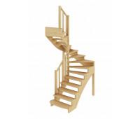 Лестница К-003м/3, проём 1820х1330, высота 2925-3120