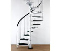 """Винтовая лестница """"Civik"""", диаметр 1200, высота 2520-3050"""