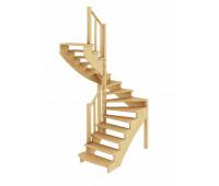 Лестница К-003м/1, проём 1820х1550, высота 2925-3120