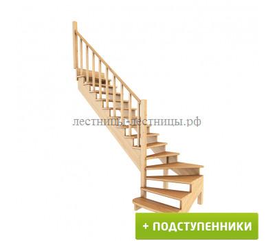 Лестница К-001м/7, проём 2920х920, высота 2730-2925