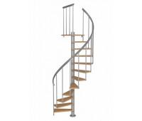 """Винтовая лестница """"Calgary"""", диаметр 1200, высота 2808"""